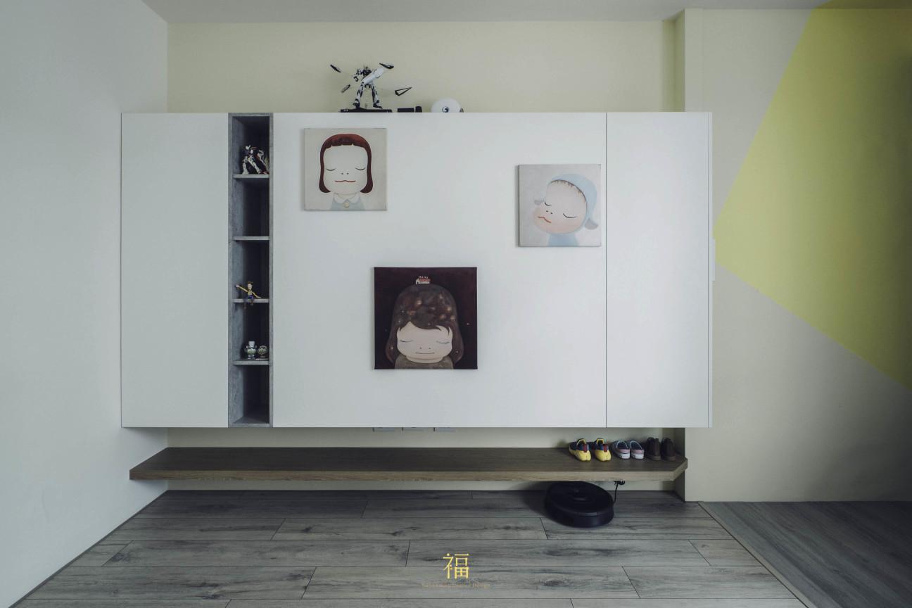 02福砌尚讚|電視牆面設計|嘉義住宅空間設計