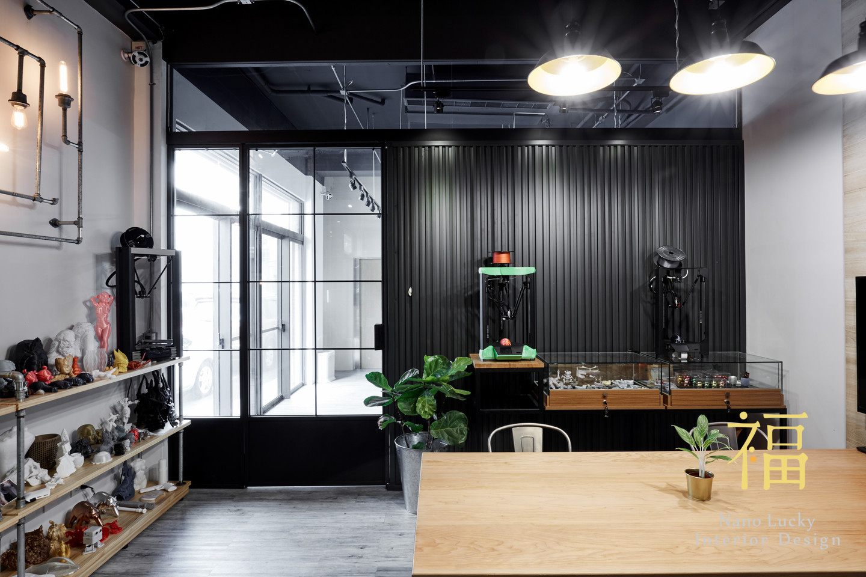Nanolucky小福砌空間設計-羽耀科技-商空設計-商務辦公室規劃-工業風格