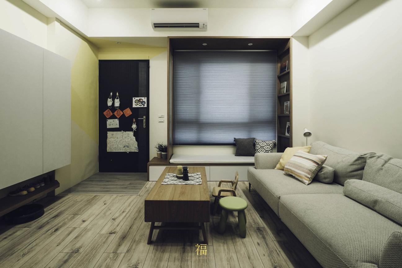 03福砌尚讚|客廳設計規劃|嘉義住宅空間設計