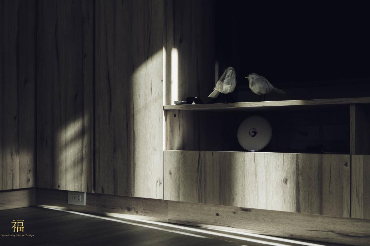 03福砌文鼎 木質感系統櫃 嘉義住宅空間設計