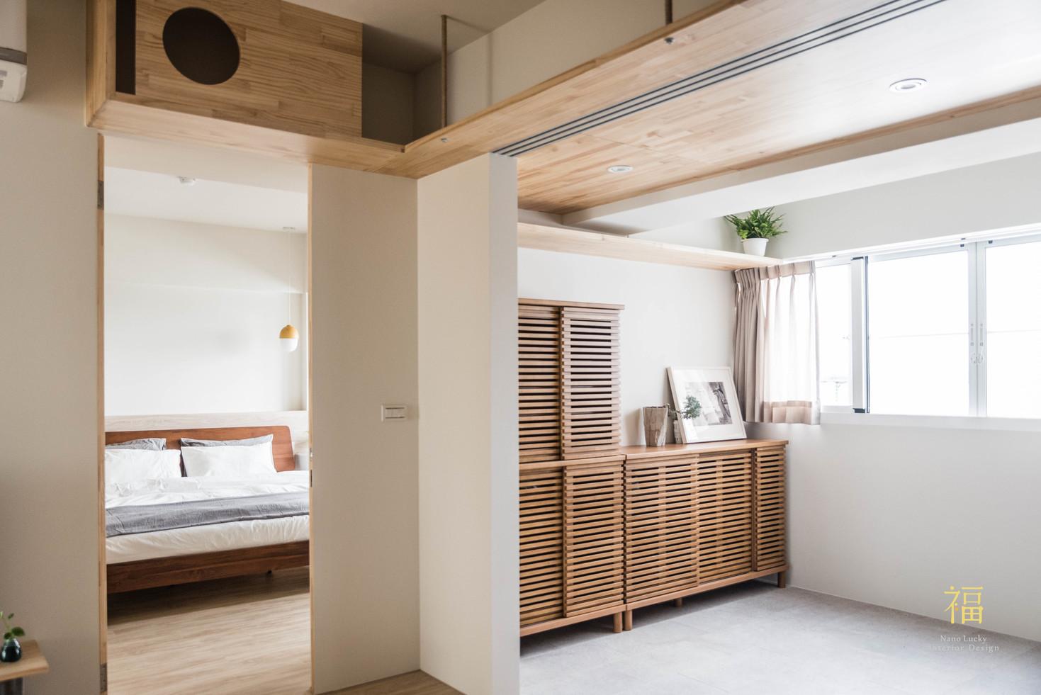 Nanolucky小福砌空間設計-嘉北街-透天住宅設計-日系無印風-寵物友善住宅