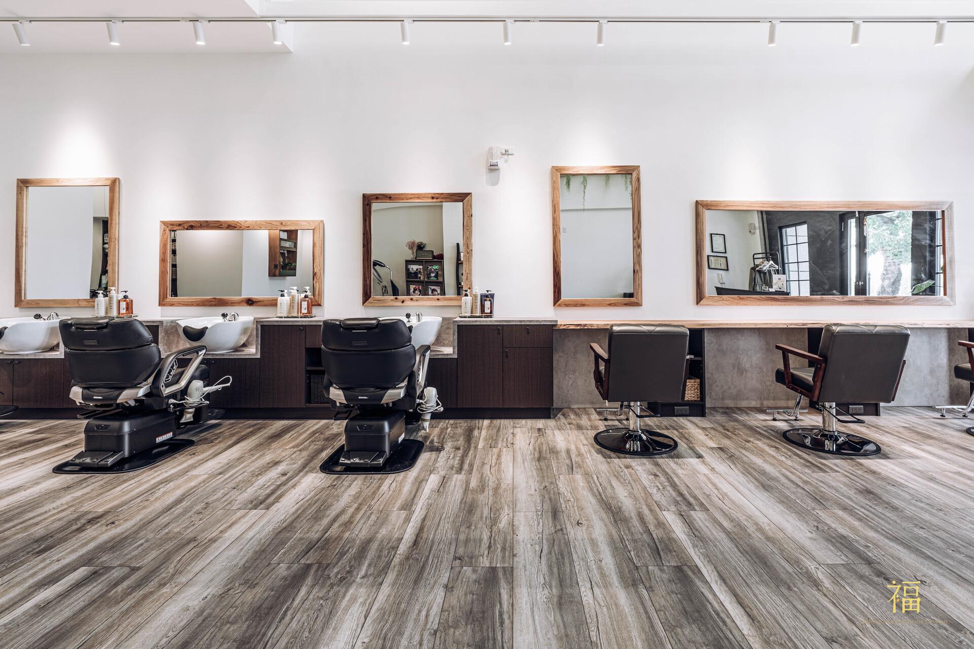 04嘉義太保日系髮廊lislushairsalonstory-美髮工作區|小福砌商業美髮沙龍空間設計