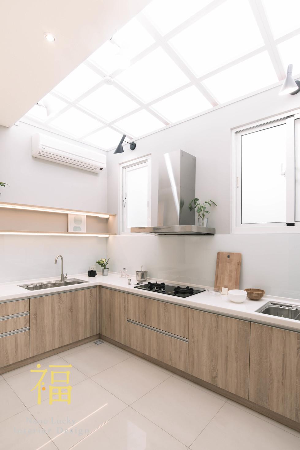 Nanolucky小福砌空間設計-市宅街王宅-住宅設計-日系無印風-自然採光