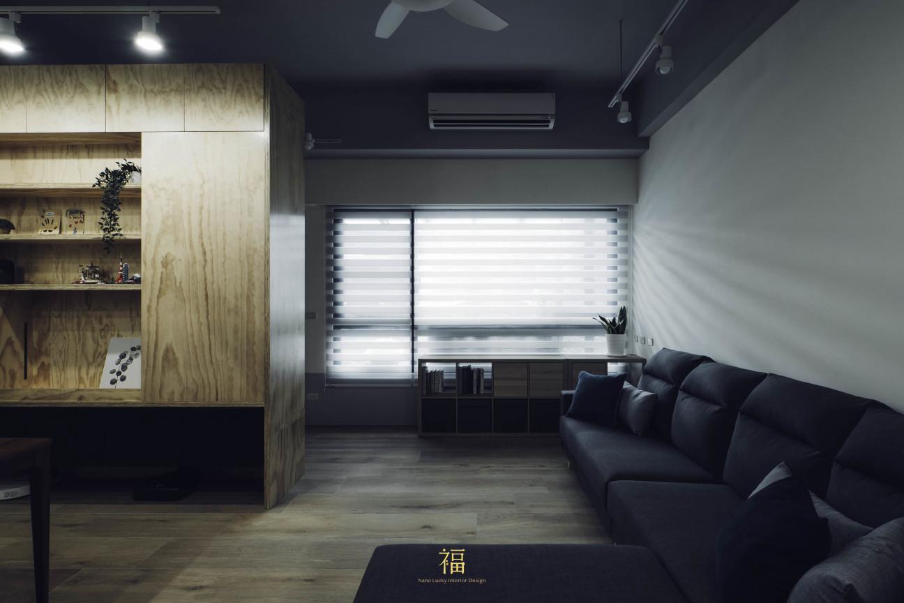 05福砌文鼎 客廳玄關櫃體設計 嘉義住宅空間設計