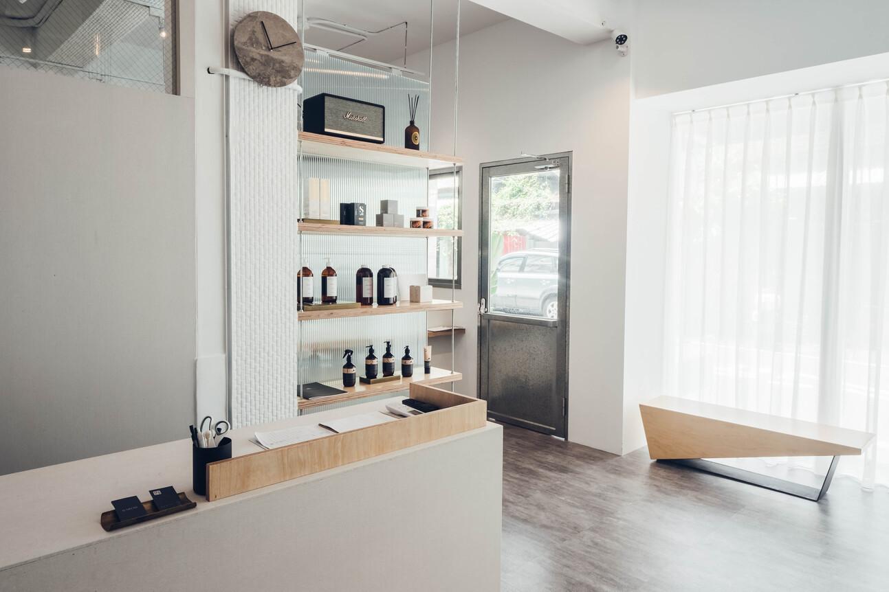 Nanolucky小福砌空間設計-Chic去咖啡/Baron美髮沙龍-商空設計-店面裝潢裝修-簡約時尚風