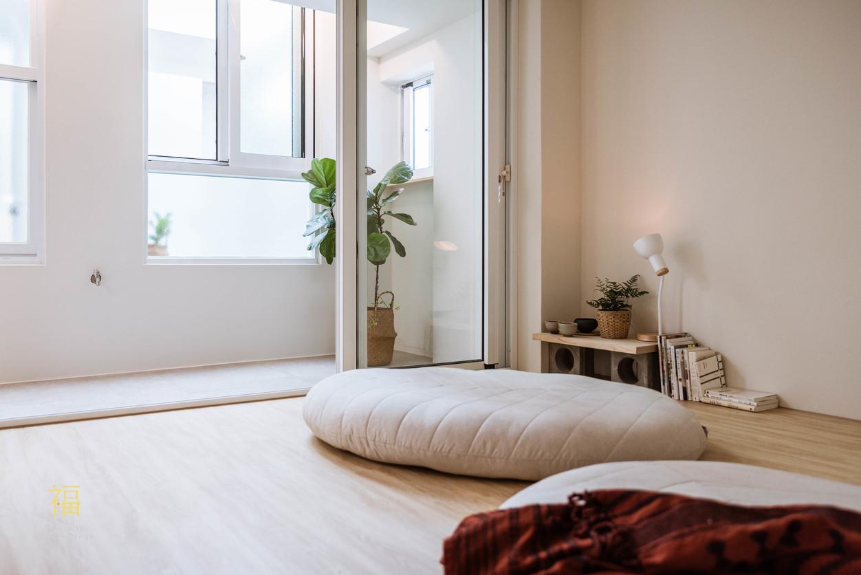Nanolucky小福砌空間設計-嘉北街-透天住宅設計-日系無印風