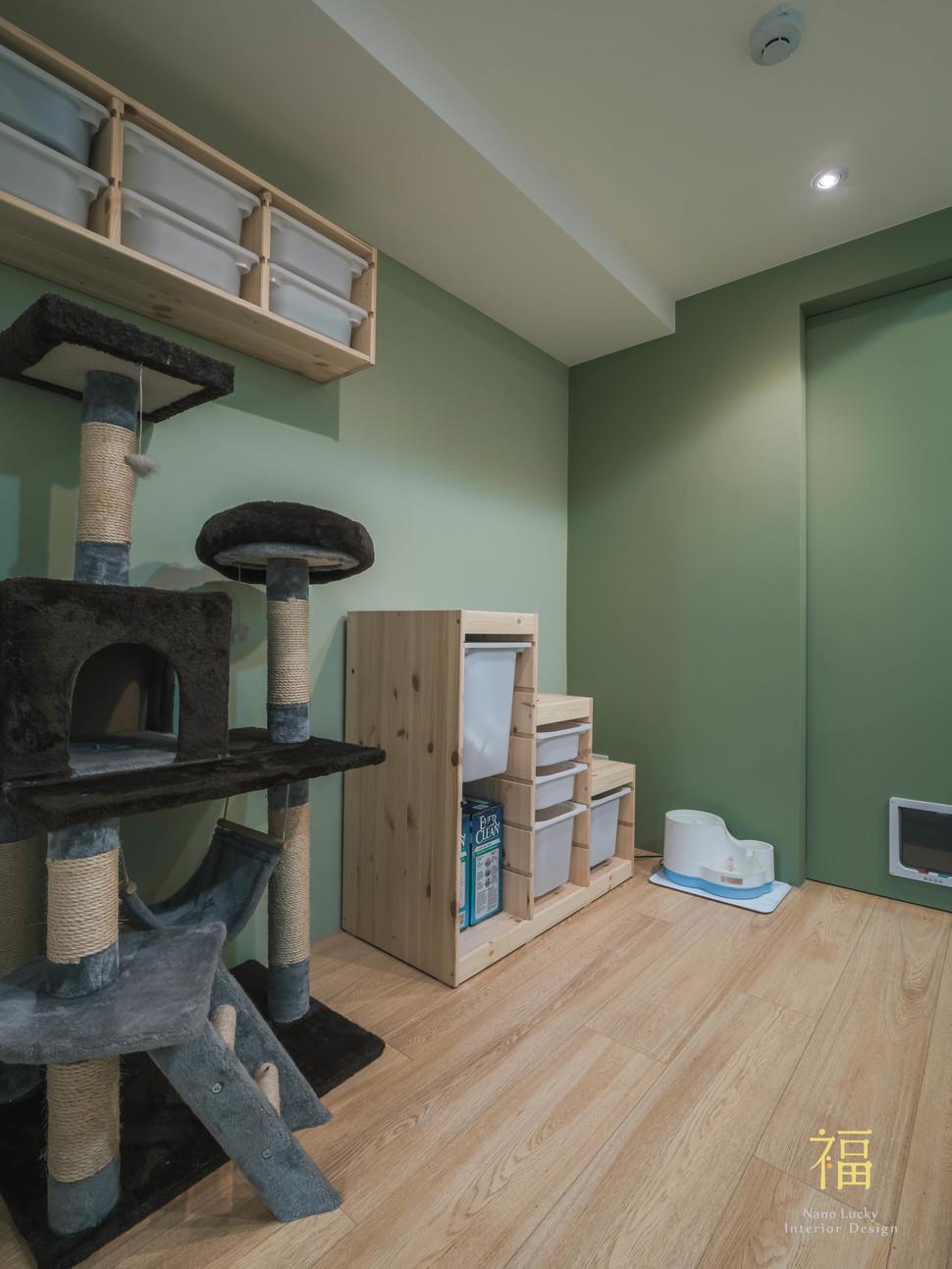 Nanolucky小福砌空間設計-民國路貓貓宅-公寓住宅設計-日系無印風-寵物友善設計