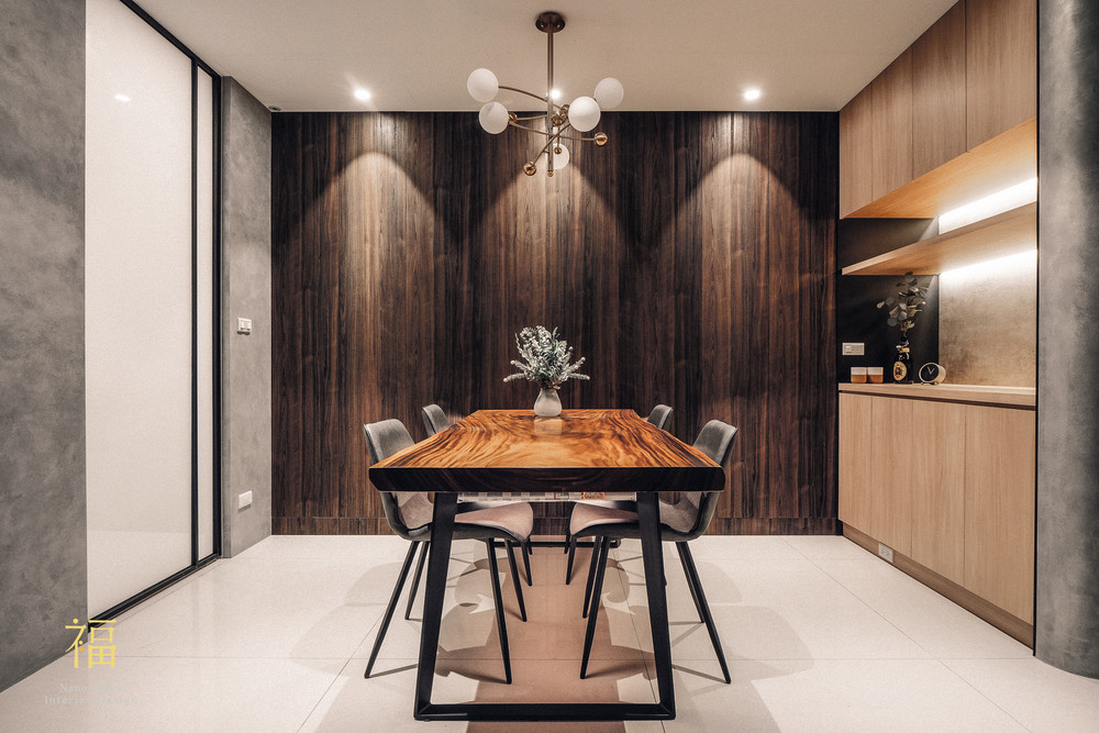 Nanolucky小福砌空間設計-盧森堡林宅-公寓住宅設計-輕奢北歐風-系統櫃