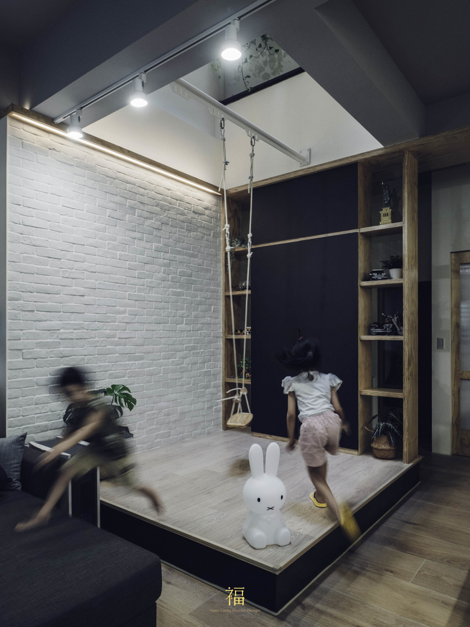 06福砌文鼎 親子遊戲區 嘉義住宅空間設計