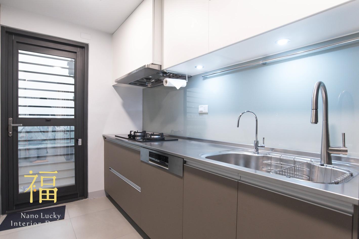 Nanolucky小福砌空間設計-陽光花園鍾宅-公寓住宅設計-日系簡約風