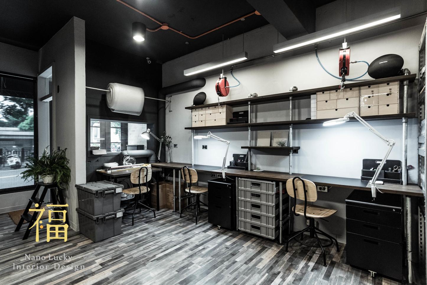 Nanolucky小福砌空間設計-何方國際開發-商空設計-商務工作室規劃-工業風
