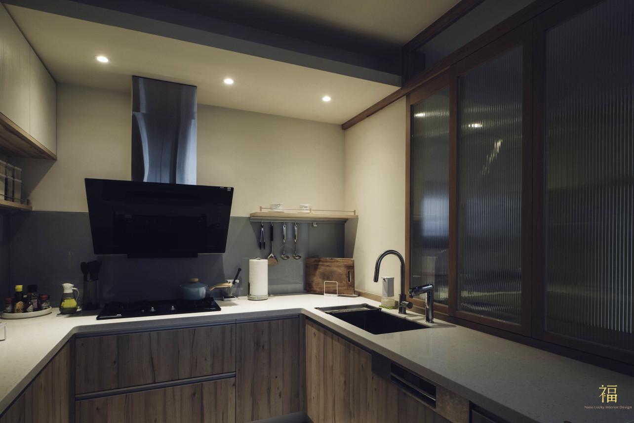 07福砌尚讚|溫馨質感廚房空間|嘉義住宅空間設