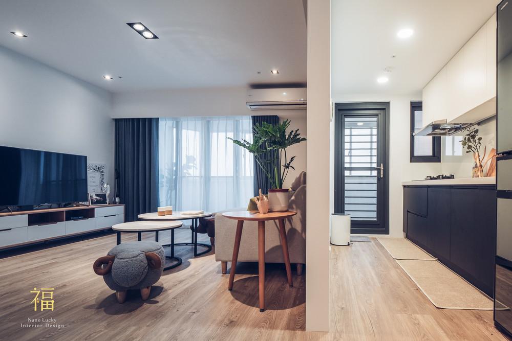 Nanolucky小福砌空間設計-藝術第一家-公寓住宅設計-簡約北歐風