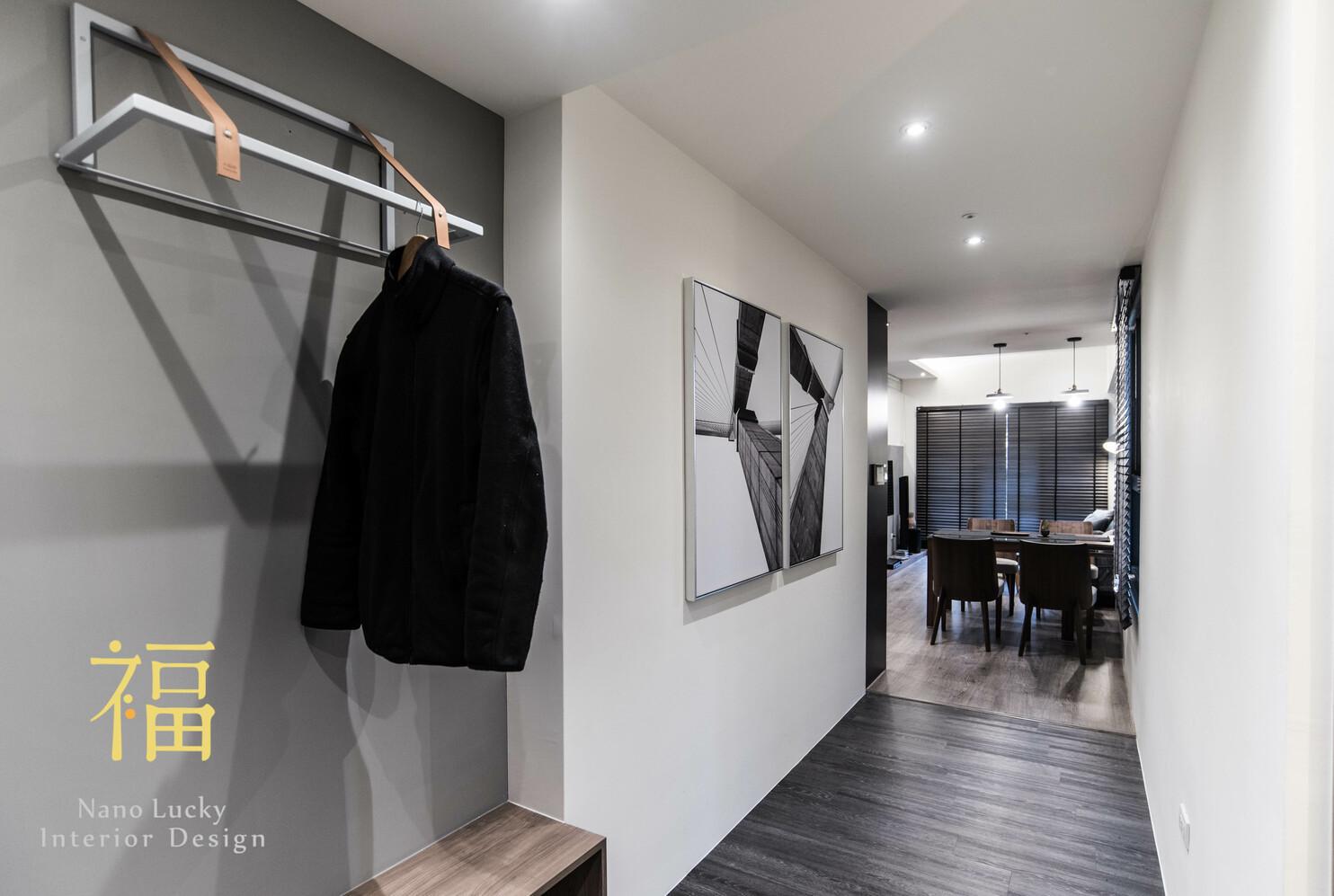 Nanolucky小福砌空間設計-遠雄國寶C7-公寓住宅設計-灰色北歐風