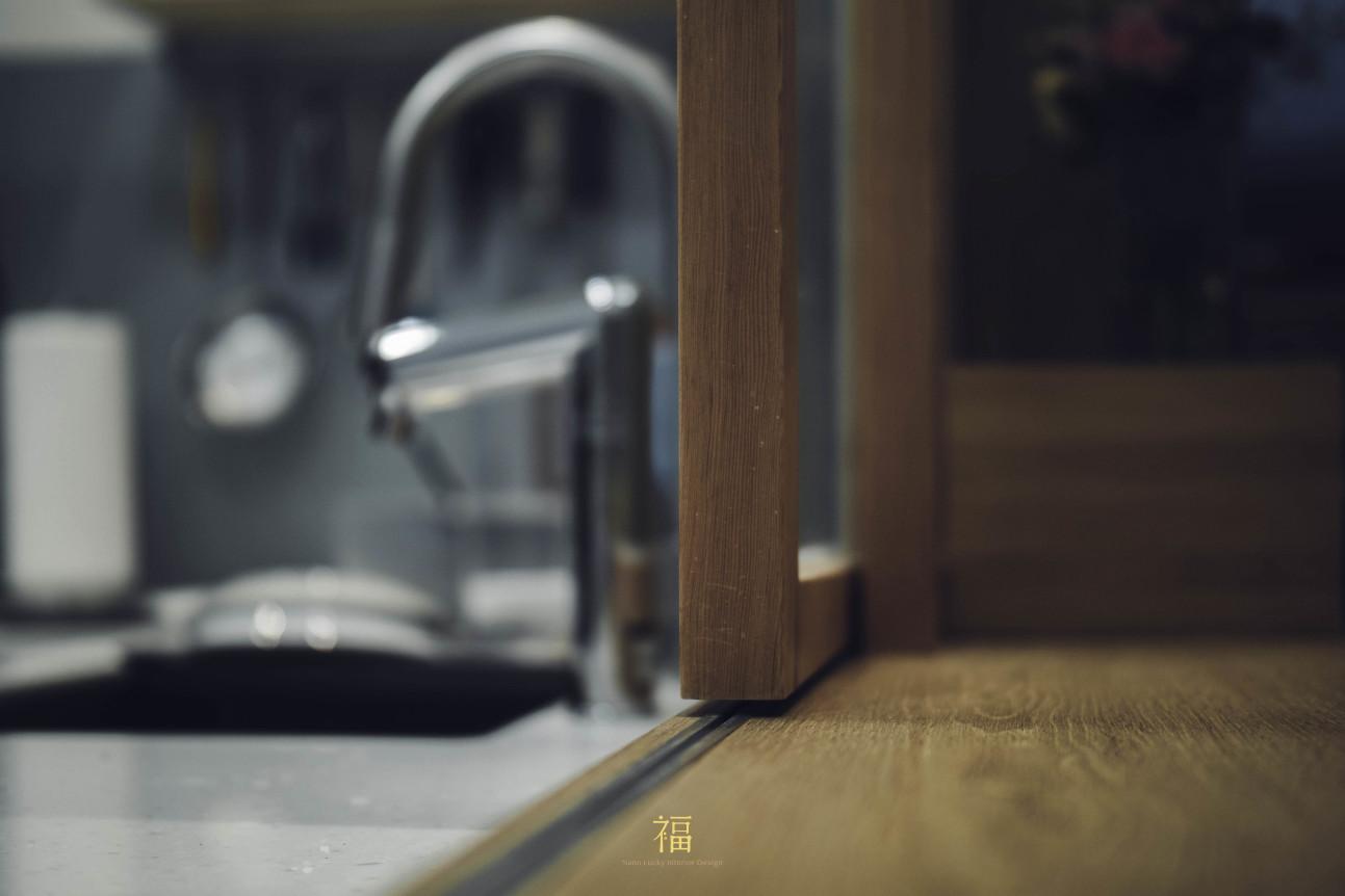 08福砌尚讚|木門框滑軌|嘉義住宅空間設