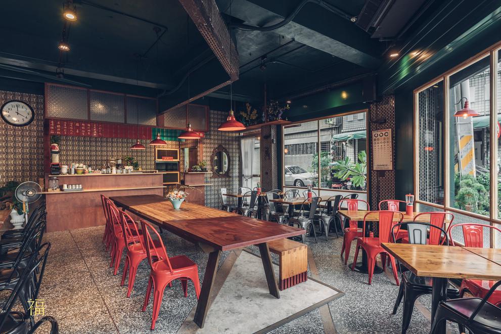 09嘉義東區復古風台式簡餐-弄來小餐桌-店內空間一覽|小福砌餐飲空間設計