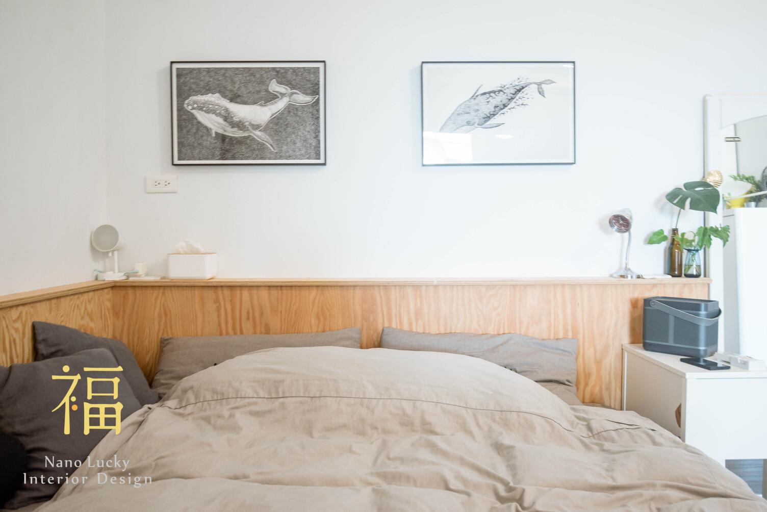 Nanolucky小福砌空間設計-小福砌-透天住宅設計-日系無印風