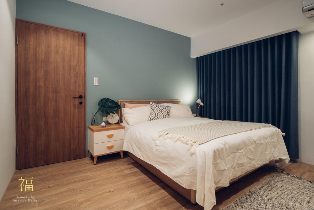 Nanolucky小福砌空間設計-藝術第一家-公寓住宅設計-簡約北歐風-主臥室