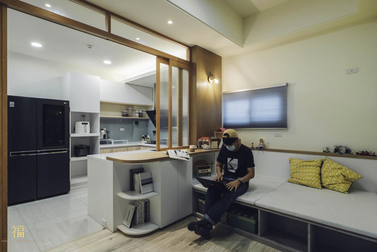 10福砌尚讚|餐廳空間打造親子互動區|嘉義住宅空間設