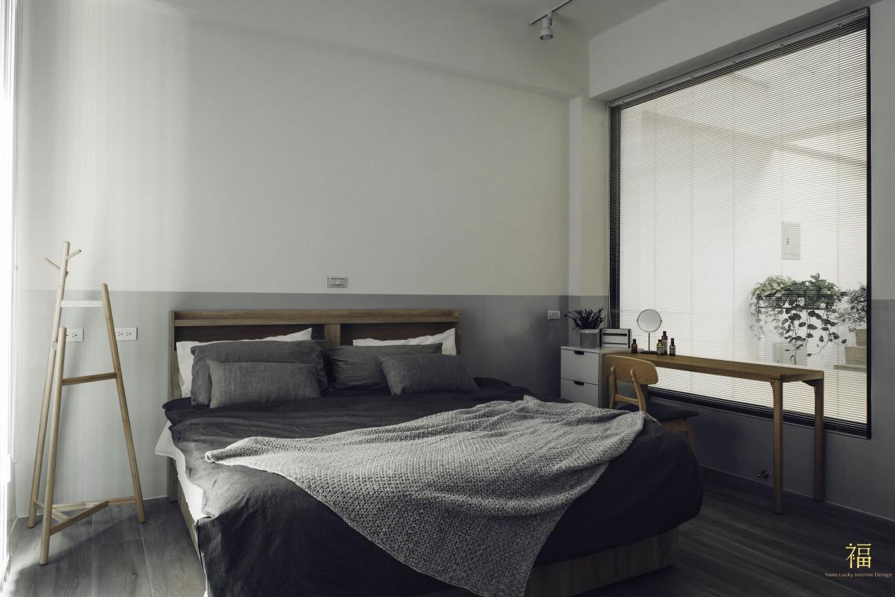 10福砌文鼎 北歐風質感臥室 嘉義住宅空間設計