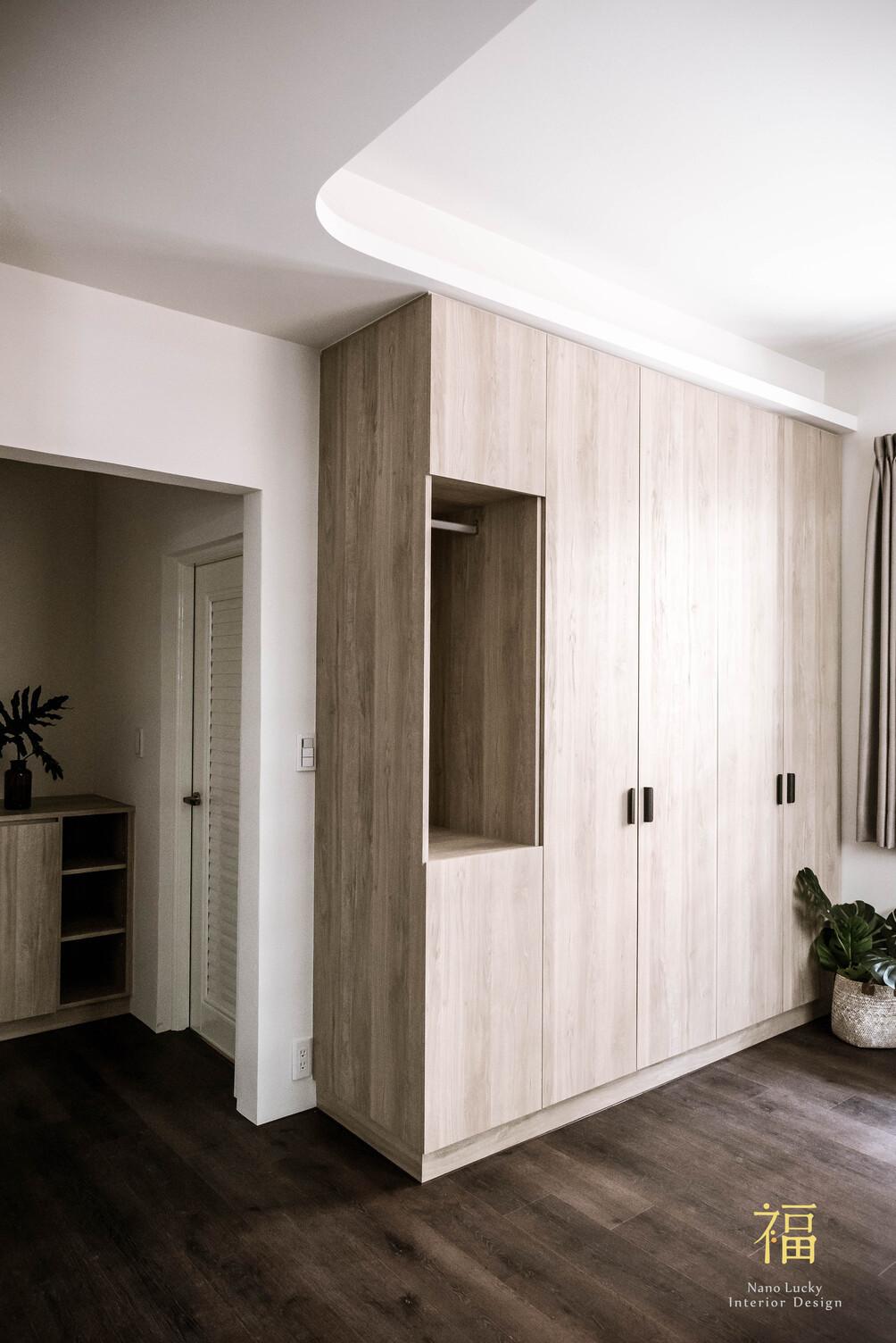 Nanolucky小福砌空間設計-小蘋果之家-住宅設計-現代北歐風-舊屋翻新-系統櫃設計