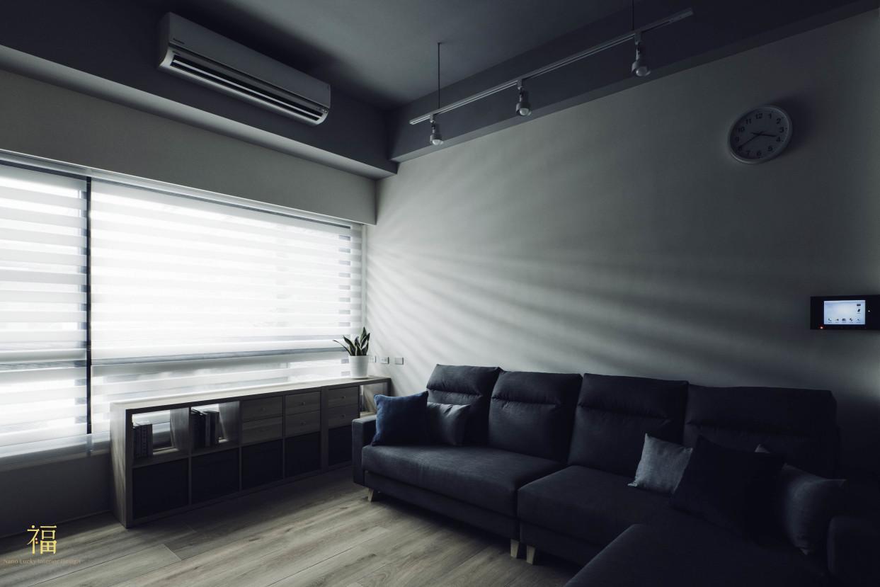 11福砌文鼎 客廳沙發 嘉義住宅空間設計