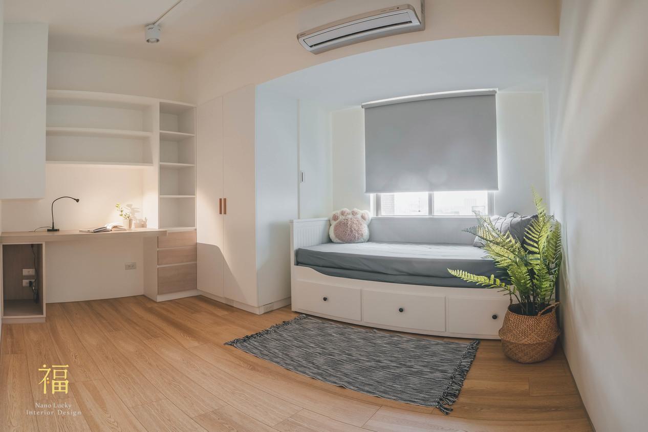 Nanolucky小福砌空間設計-民國路貓貓宅-公寓住宅設計-日系無印風