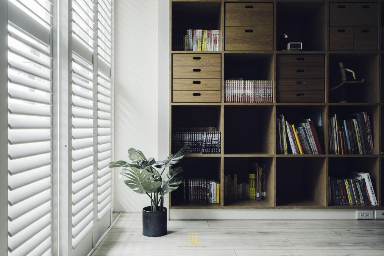 12福砌尚讚|白色系臥室遮陽片|嘉義住宅空間設