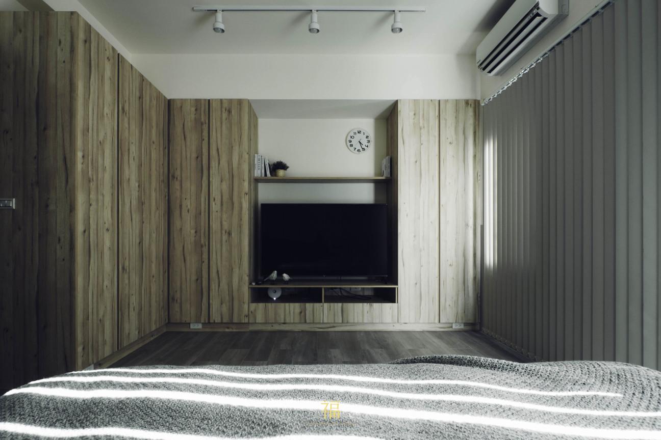 12福砌文鼎 主臥室系統櫃 嘉義住宅空間設計