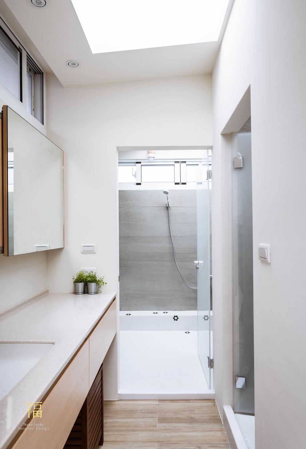 Nanolucky小福砌空間設計-嘉北街-透天住宅設計-日系無印風-天然採光