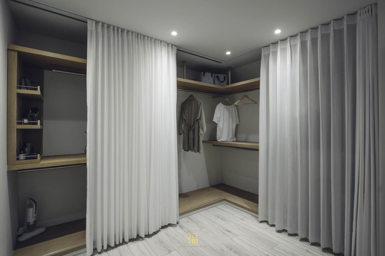 13福砌尚讚|衣帽間收納設計|嘉義住宅空間設