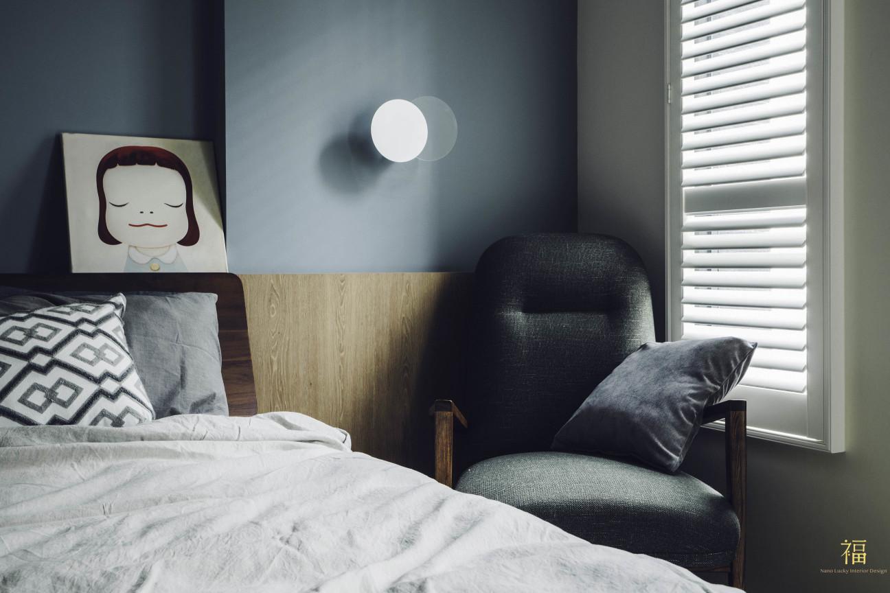 14福砌尚讚|北歐質感臥室設計|嘉義住宅空間設