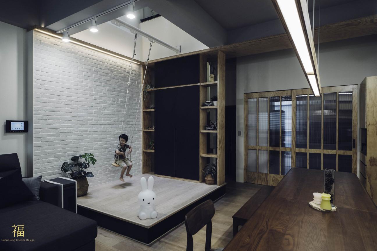 14福砌文鼎 北歐風生活家居 嘉義住宅空間設計