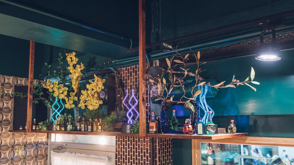 15嘉義東區復古風台式簡餐-弄來小餐桌-天花板吊櫃|小福砌餐飲空間設計