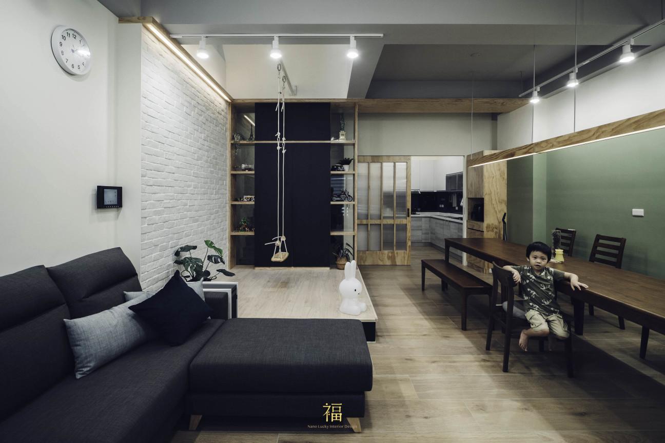 16福砌文鼎 溫馨風居家裝修 嘉義住宅空間設計