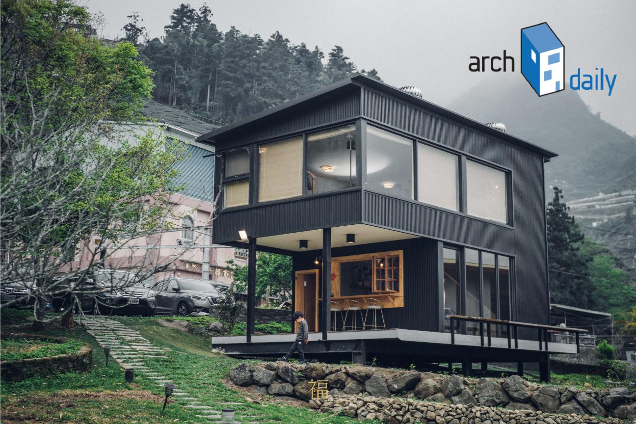 archdaily2021年度建築獎|三角鐵茶屋
