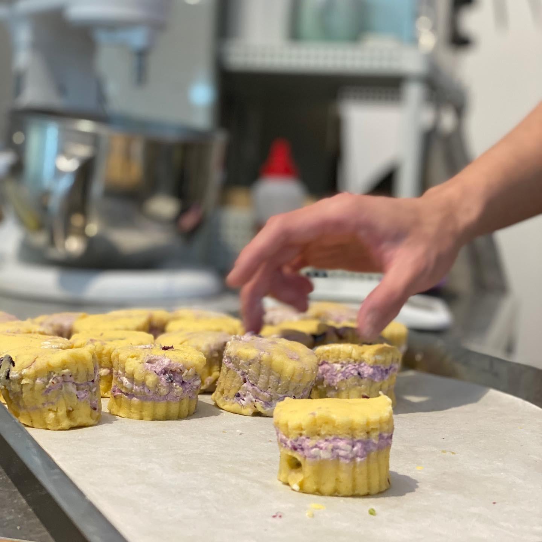 baron-scones嘉義英式司康專門店-當日烘焙新鮮司康 小福砌商業甜點空間設計