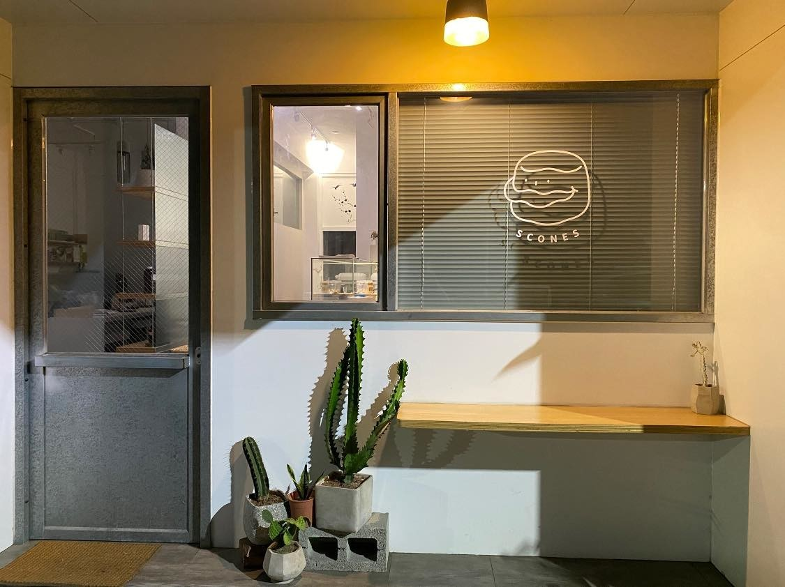 baron-scones嘉義英式司康專門店-絕美韓系店面 小福砌商業甜點空間設計