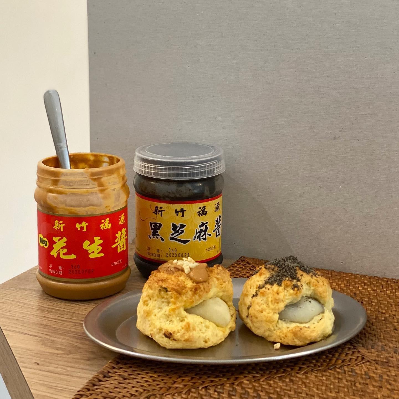 baron-scones嘉義英式司康專門店-限定口味福源麻糬司康 小福砌商業甜點空間設計