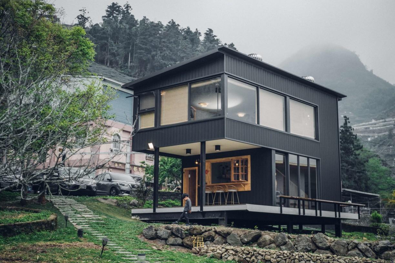 阿里山樟樹湖山角鐵茶屋工業風設計