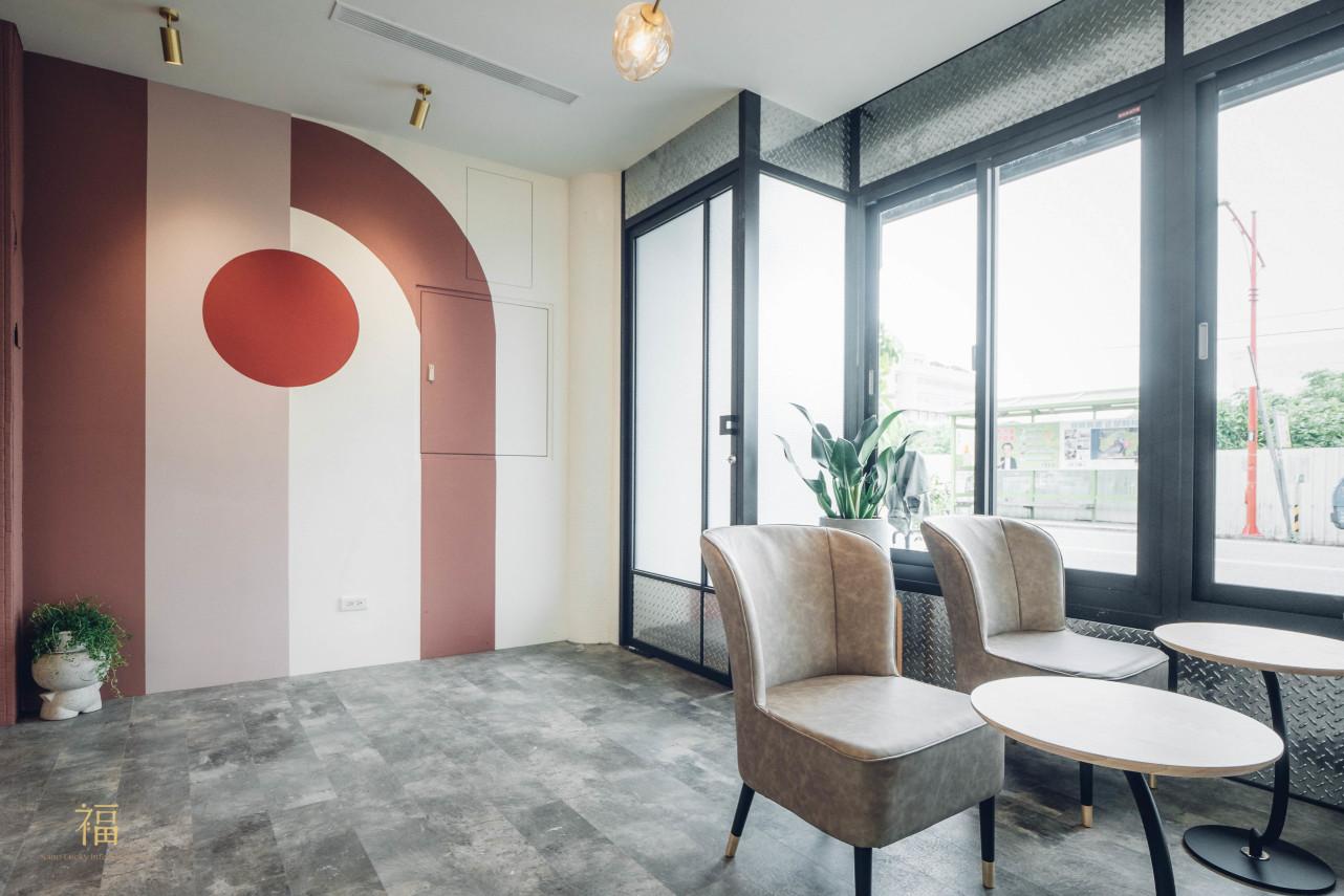 飛茉莉一樓現代風格座位區