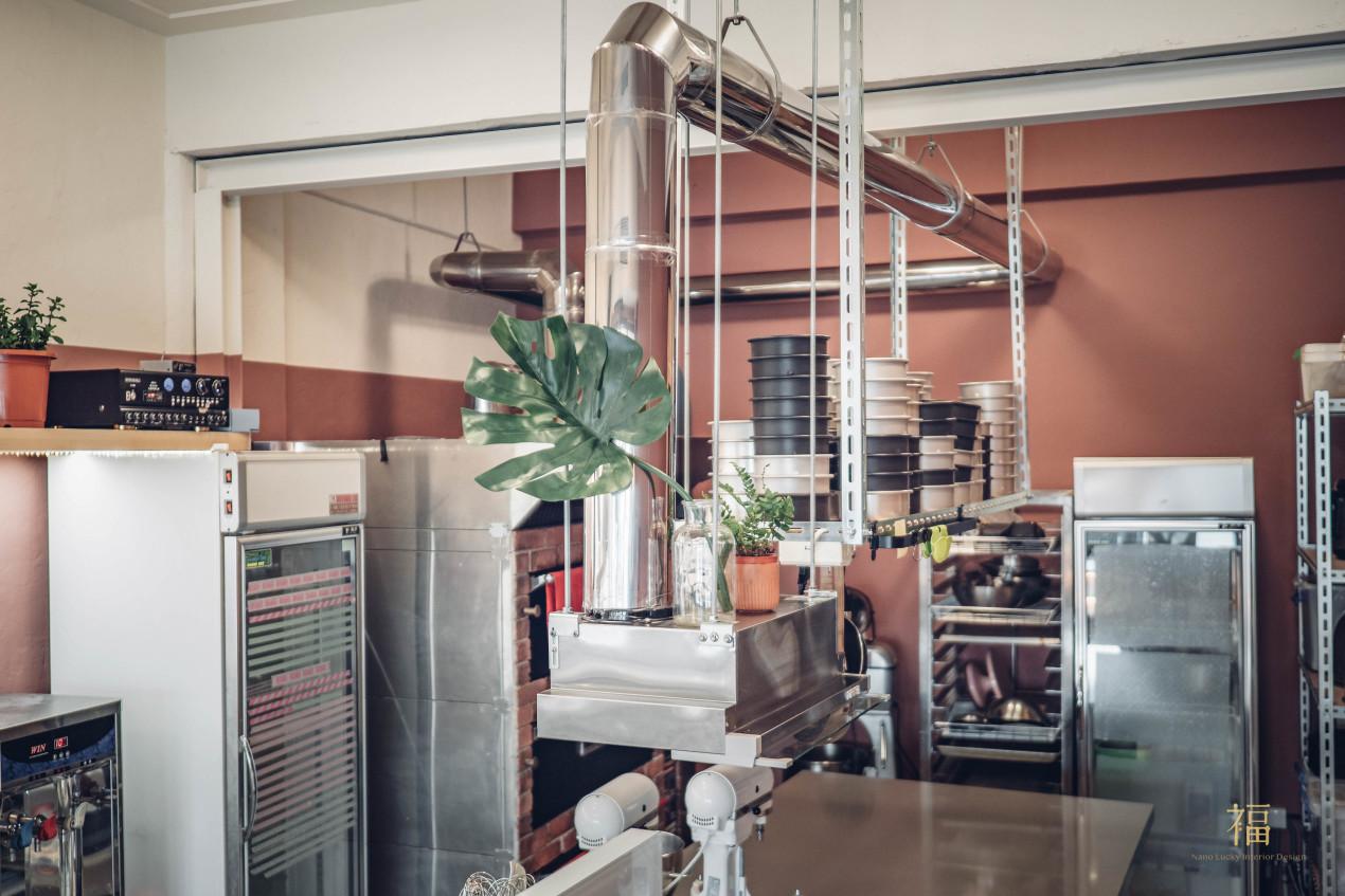 飛茉莉工作區層架與排風設計