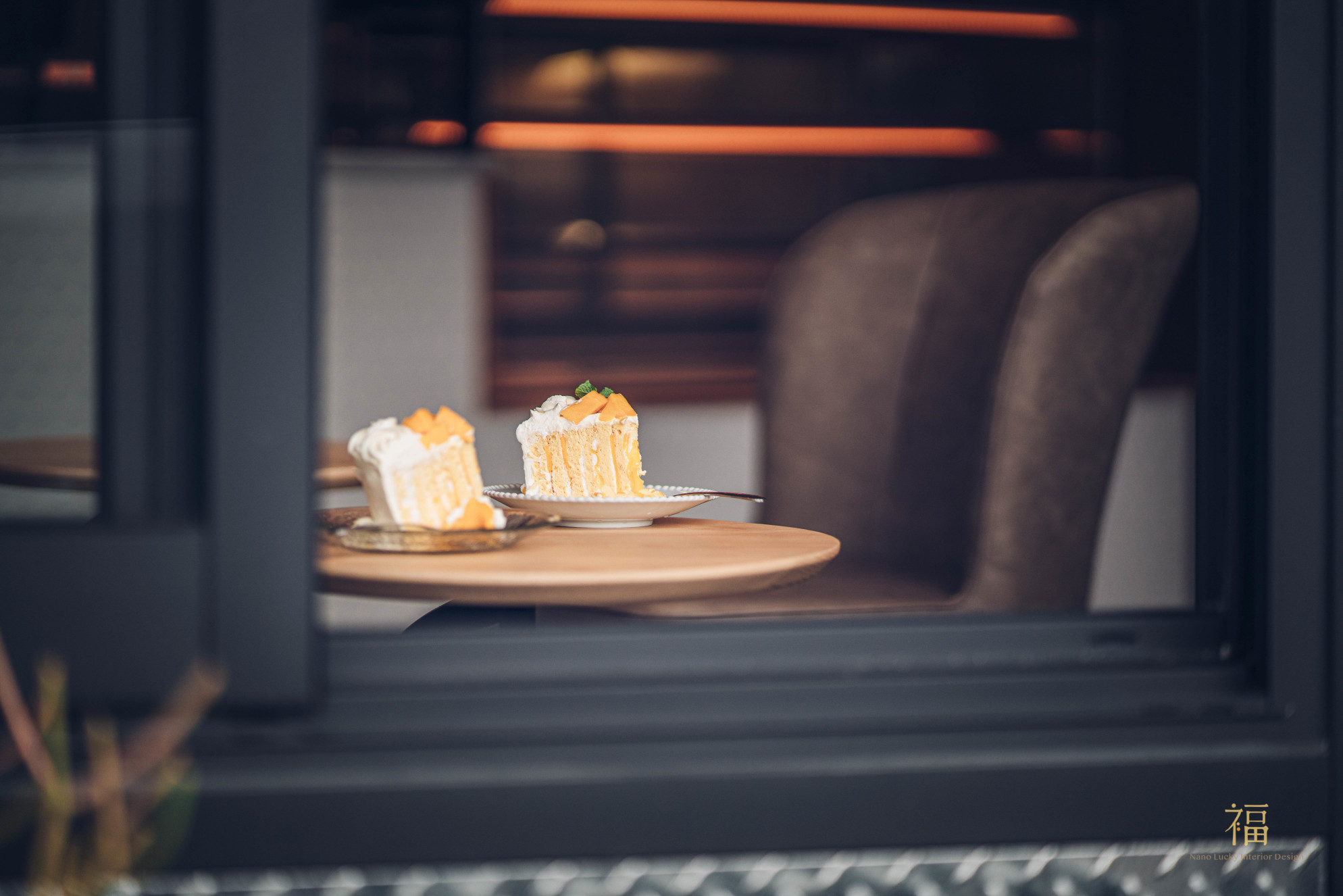 飛茉莉窗邊座位與手工蛋糕