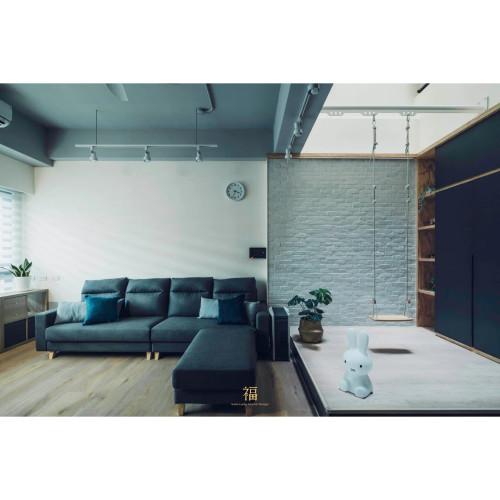 善用自然光照明的格局規劃,自帶spotlight親子空間|嘉義小福砌空間設計